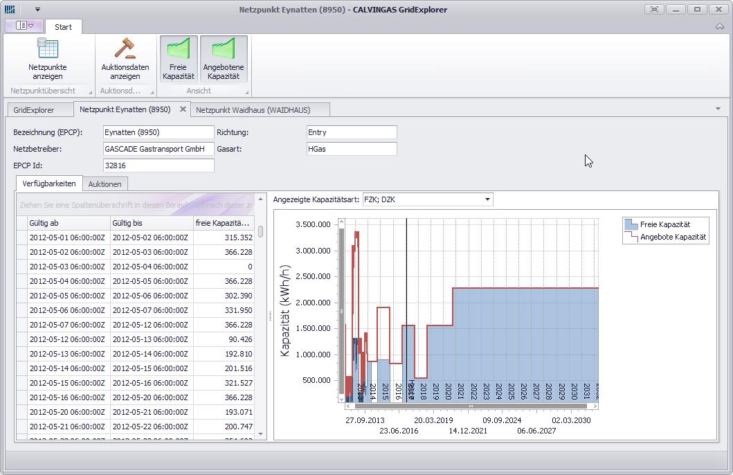 Grid Explorer Screenshot